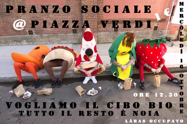 Merc 16.10 - Pranzo sociale in piazza Verdi