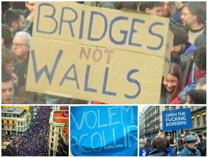 bridges not wall